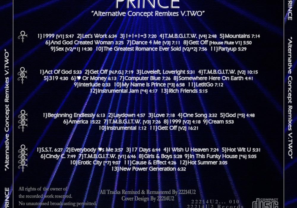 Prince – remix | 2tha9s