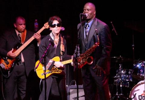Prince and Maceo Parker